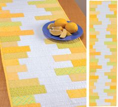 Table runners—what other type of quilt turns out such a quick, versatile, pretty, and practical result? Stop by for a peek inside the new book Set the Table and get inspired to freshen up your space with the help of some of today's hot new designers.