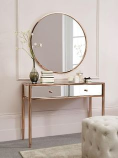 Copper Metal Mirror from Next