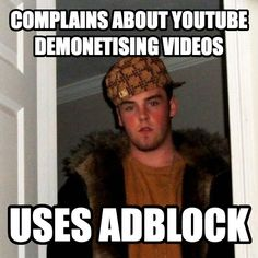 There's somewhat of a double standard regarding this whole YouTube drama...