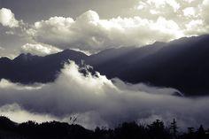 Afternoon mist over Sa Pa #scene #vietnam