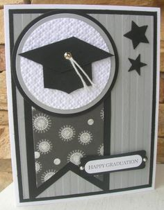 images about graduation - Homemade Cards, Rubber Stamp Art . Graduation Cards Handmade, Graduation Crafts, Greeting Cards Handmade, Kids Cards, Baby Cards, Cricut Cards, Congratulations Card, Paper Cards, Cool Cards
