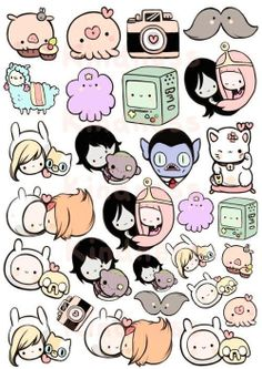 Cute Adventure Time characters