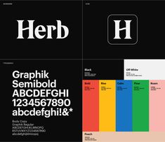 Herb Branding on Behance Graphic Design Posters, Graphic Design Typography, Graphic Design Inspiration, Identity Design, Visual Identity, Brand Identity, Wireframe, Gfx Design, Brand Book