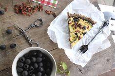 žít vege: bezlepkový vegan quiche Vegan Quiche, Savoury Baking, Camembert Cheese, Gluten Free, Lunch, Healthy Recipes, Meals, Dinner, Meal Ideas