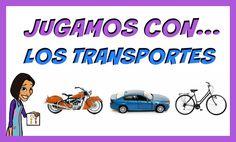 Los transportes - Juegos educativos para niños - YouTube