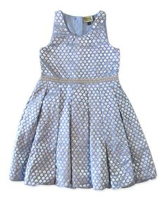 This Cornflower Blue Honeycomb Dress - Infant, Toddler & Girls by Sophie Catalou is perfect! #zulilyfinds