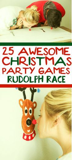 25 funny Christmas party games that are great for adults for groups for teens and even for kids! Try them at the office for a work party at school for a class party or even at an ugly sweater party! I cant wait to try these for family night this Chr Funny Christmas Party Games, Xmas Games, Christmas Party Ideas For Teens, Holiday Games, Holiday Fun, School Christmas Party, Holiday Foods, Christmas Games For Adults Holiday Parties, Christmas Activities For Adults