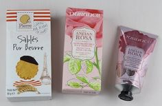 French Box Subscription Box Review – August 2015 CookiesPierre Biscuiterie Pure Butter Cookies – Value $5  Durance Ancian Rosa Protective Hand Cream – Value $28