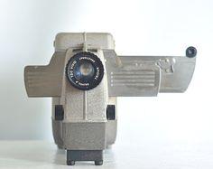 Vintage 1950's Slide Projector / TDC Headliner 35 / Made by Bell Howell / slide images