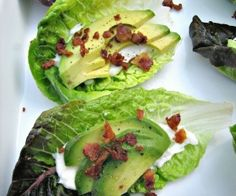 Bacon Avocado Lettuce Wraps Recipe | Paleo inspired, real food