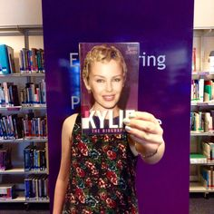south_devon_college This week, #bookfacefriday brings you Kylie Minogue! #southdevoncollege