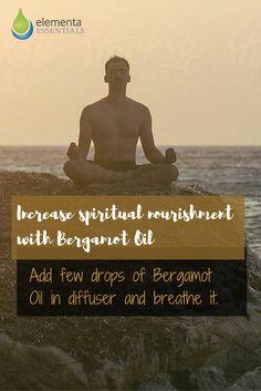 Increase spiritual nourishment with Bergamot Oil. elementaoils.com