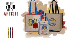 Grab your crayons and personalize your own Kraft Sack. Unlimited Possibilities!   ebscocreativeconcepts.com