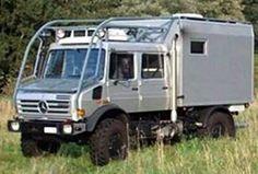 Unimog camper. .