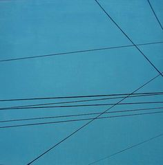 Ronda Stephens - Power Lines 25 - Thirty Paintings in Thirty Days ©AbstractionsbyRonda / http://abstractionsbyronda.blogspot.com