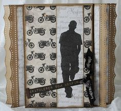 """Lisbeth has made a card with the new boys-collection - """"En herre med. Confirmation Cards, Masculine Cards, Nye, Handmade Cards, Birthday Cards, Scrap, How To Make, Collection, Craft Cards"""