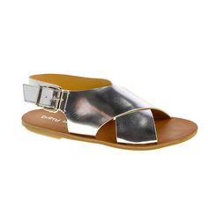 BEATBOX Metallic Flat Sandal