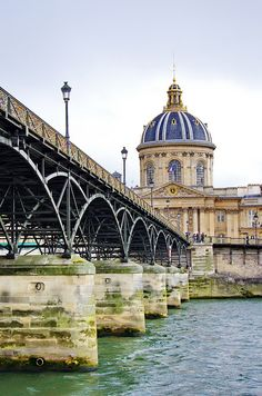 bridge in Paris, France Beautiful Paris, Most Beautiful Cities, Paris Travel, France Travel, Monuments, Oh The Places You'll Go, Places To Visit, Travel Around The World, Around The Worlds