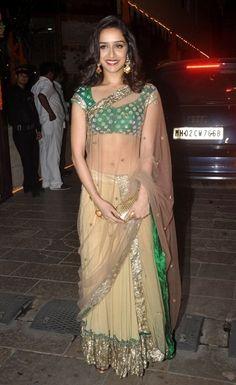 Best dressed 2014: Indian ethnic | VOGUE India: Shradda Kapoor in Anamika Khanna