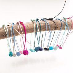 Mazel Jolie Bijoux :  Ca sent bon l'été!!!! Les Bracelets grigris de l'...
