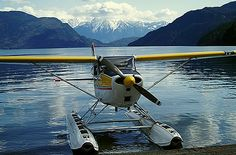 Some places you just can't get to with out a float plane :-) #floatplane #seaplane.....and those are the places where you find yourself.