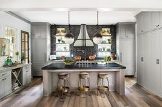gray marble kitchen counter