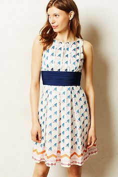 Waltham Embroidered Dress #anthropologie #anthrofave