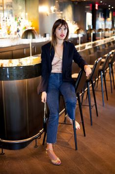 """Jeanne Damas is the Epitome of """"French Girl Cool"""" - Man Repeller"""
