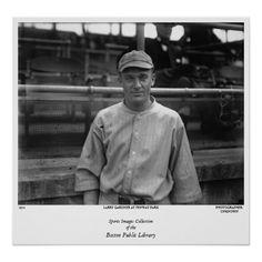 Larry Gardner at Fenway Park Poster