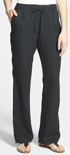great #black linen summer pants http://rstyle.me/n/j642hr9te