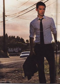 One of my fave shots ever of him. Milo Ventimiglia.  Check him out in Gilmore Girls or Heroes via netflix or dvd.