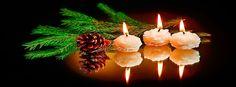 na-pulpit.com-wiece-szyszka-galaz-wiateczny-stroik Pulpit, Fb Covers, Pillar Candles, Facebook, Candles