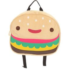 hamburger backpack