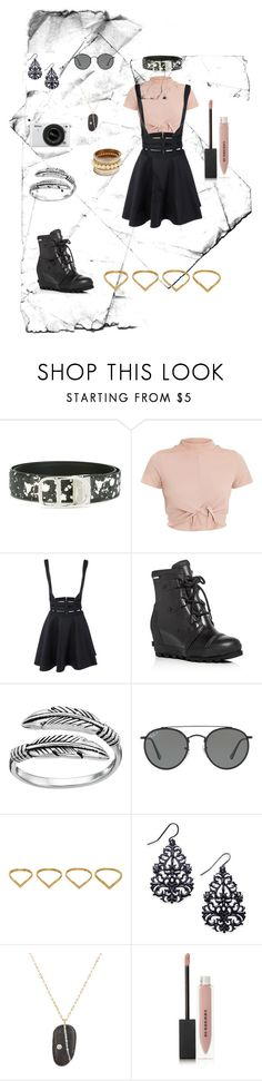 """Youth's Dance"" by honeybuns-loves-hobi ❤ liked on Polyvore featuring Christian Dior, SOREL, Primrose, Ray-Ban, Ana Khouri, Thalia Sodi, CVC Stones, Nikon and Burberry"