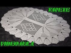 TAPETE ALFA # LUIZA DE LUGH - YouTube