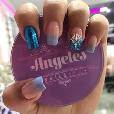 2,734 Me gusta, 4 comentarios - Ángeles nails spa (@angelesnailspa) en Instagram Nicole By Opi, Special Nails, Dope Nails, Nail Decorations, Nail Spa, Cute Nail Designs, Sally Hansen, Nail Trends, Beauty Nails