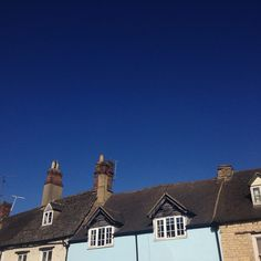 Blue sky in Witney, Oxfordshire Witney Oxfordshire, Beautiful Day, Monument Valley, Sky, Amazing, Instagram Posts, Blue, Heaven