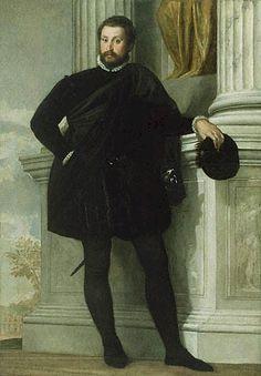 Venice, The Republic of Venice  Paolo Caliari Veronese, 1576-78: Portrait of a Man