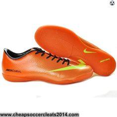 Nike Mercurial Vapor IX IC Indoor Shoes Orange Yellow Cheap Soccer Shoes  Orange Yellow fc9ec25e91c3d