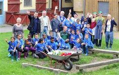 Vom 01. bis zum 06. September erleben 19 Kinder aus sozial benachteiligten Kindern aus Frankfurt am Main eine spannende Woche auf dem Schulbauernhof Tannenhof e.V.