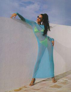 duneve: Yasmeen Ghauri, 90s