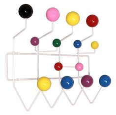 Hang It All coat rack by Charles and Ray Eames