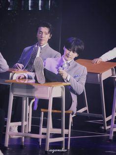 180512 'Super Show 7 in Macau' Donghae Eunhyuk (cr. Eunhyuk, Kim Heechul, Siwon, Lee Donghae, Red Redemption 2, Super Junior Donghae, My Superman, Last Man Standing, My King