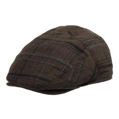 Tusco Wool Plaid Ivy Cap Newsboy Hat with Ear Flaps 88bbdd639ceb