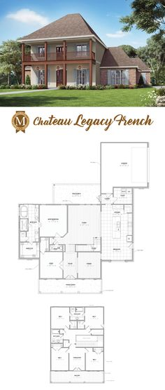 The Cau Floor Plan By Builder Manuel Builders For Our New Homes In Lafayette And Lake Charles La