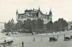 Palatul Sturdza anilor '20.