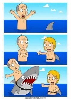 La broma del Tiburón