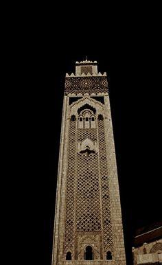 Mezquita Hassan II - Casablanca. Marruecos Art for Gallery https://www.amazon.es/dp/B01F8TG40C/ref=cm_sw_r_pi_dp_mbhlxb2W9A5Y9