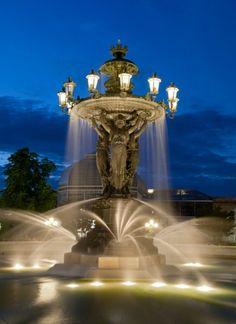 Bartholdi Fountain, National Botanic Gardens, Washington, DC