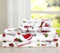 Santa & Friends Sheet Set #pbkids
